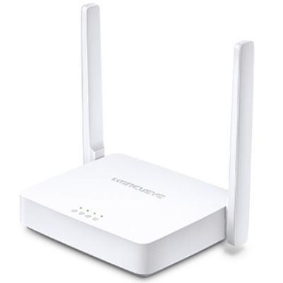 MERCUSYS Wireless Router N-es 300Mbps 1xWAN(100Mbps) + 2xLAN(100Mbps), MW301R