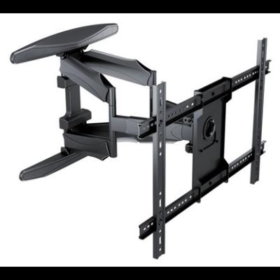 """Multibrackets fali rögzítő Flexarm Full Motion Dual 600x400, karos, dönthető, forgatható, 40-85"""", fekete"""