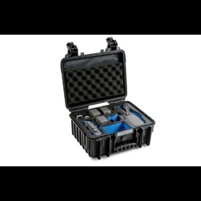 B&W koffer 3000 fekete DJI Mavic 2 (Pro/Zoom) modellhez (31918)