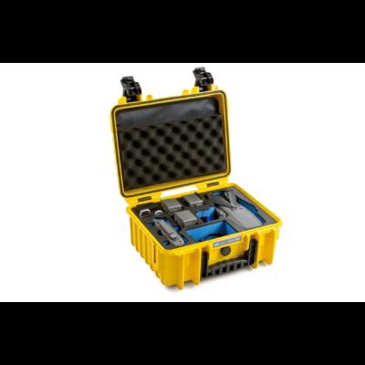 B&W koffer 3000 sárga DJI Mavic 2 (Pro/Zoom) modellhez (31919)