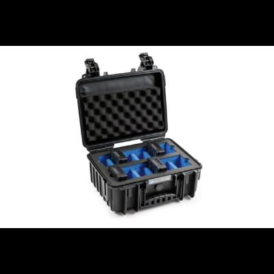 B&W koffer 3000 fekete DJI TB50 6S akkumulátorokhoz (31924)