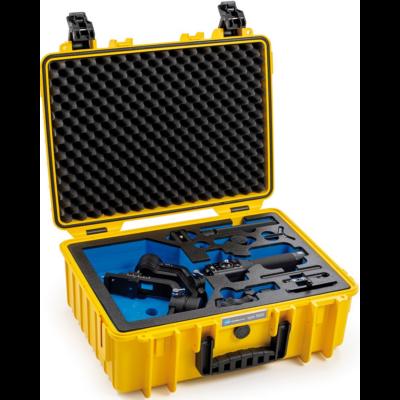 B&W 5000 szériás, sárga, kültéri keménytok Ronin-SC típusú képstabilizátorhoz (32089)