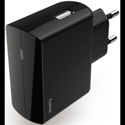 Hama hálózati töltő USB 2,4A (183258)