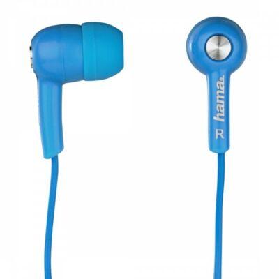 """Hama """"HK2114"""" in-ear fülhallgató, mikrofon, kék (122691)"""
