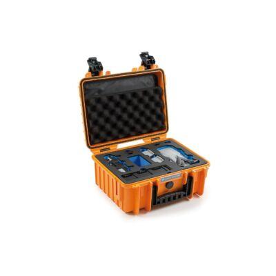 B&W koffer 3000 narancssárga DJI Mavic Air 2 modellhez (32483)