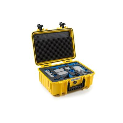 B&W koffer 4000 sárga DJI Mavic Air 2 + Smart Controller modellhez (32485)