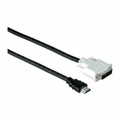 Hama HDMI-DVI/D összekötőkábel 2,0m, COM (34033)
