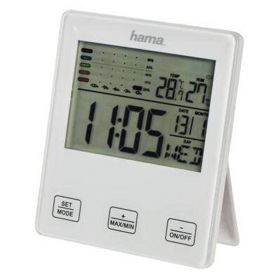 """Hama hő és páratartalom mérő, """"TH-10"""" penészedés jelzéssel (176967)"""
