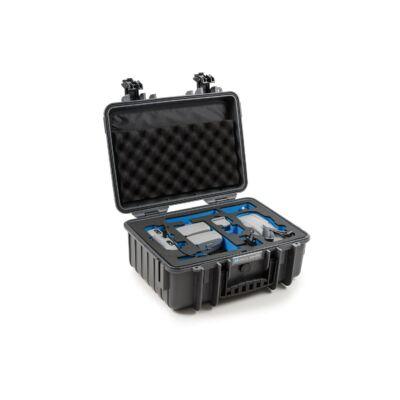 B&W koffer 4000 sötétszürke DJI Mavic Air 2 + Smart Controller modellhez (32486)