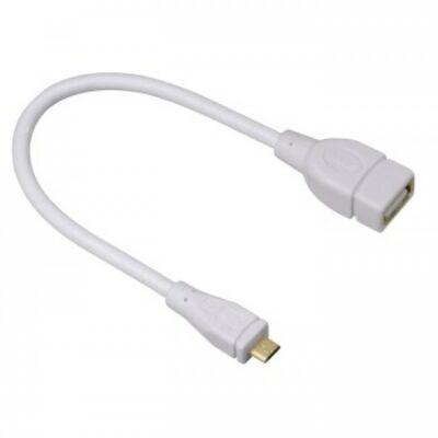 Hama micro USB-OTG adapter,fehér (54518)