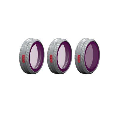 PGYTECH szűrő Mavic 2 Zoomhoz - GND szett (Professional) (ND8-GR, ND16-4, ND32-8)