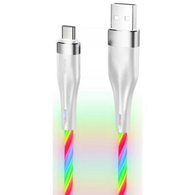 Joyroom S-1224N3 Streamer USB Type-C 1.2M Adatkábel - Fehér