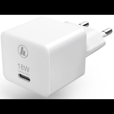 """Hama univerzális hálózati USB Type-C töltő """"PD"""" (3A,27W) (188350)"""