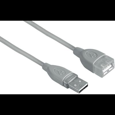 Hama USB hosszabbító kábel A-A 0,5m (39723)