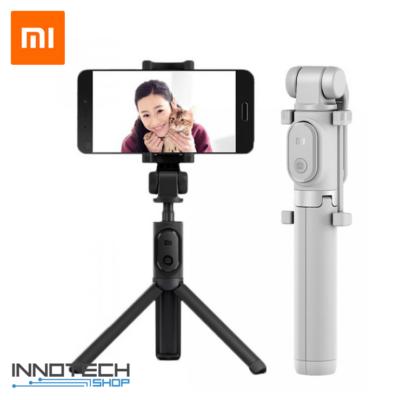 Xiaomi Mi Selfie Stick Tripod - állvány és monopod szelfi bot levehető bluetooth kioldógombbal (XMZPG01YM) - szürke  (XMMSSTRBTUSG)