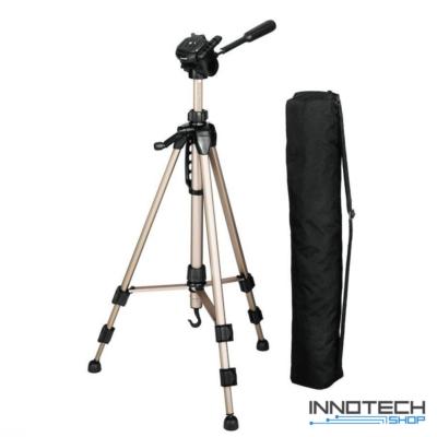 Hama STAR 61 F-V. fotó videó állvány 1530 mm (ultra könnyű teleszkópos kamera tripod statív táskával) (4161)