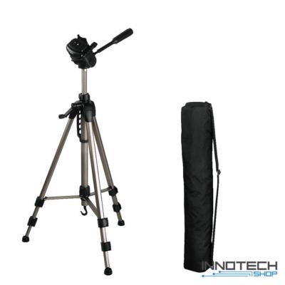 Hama STAR 62 F-V. fotó videó állvány 1600 mm (ultra könnyű teleszkópos kamera tripod statív táskával) (4162)