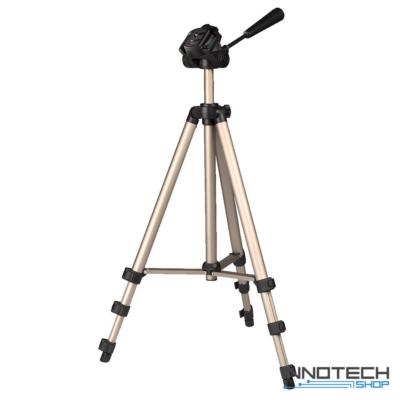 Hama STAR 75 fotó videó állvány 1250 mm (ultra könnyű teleszkópos kamera tripod statív táskával) (4175)