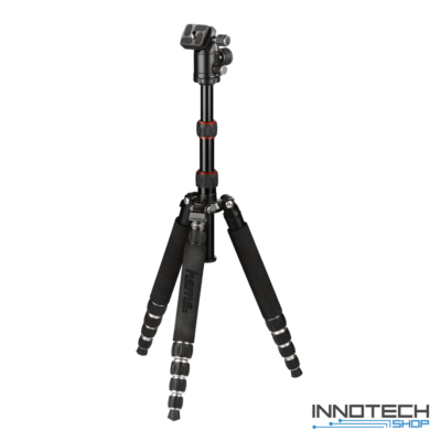 Hama TRAVELLER PREMIUM 144 BALL professzionális fotó videó állvány 1440 mm (alumínium teleszkópos profi kamera monopod és tripod statív) (4266)