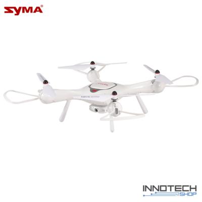 SYMA X25 PRO GPS WiFi FPV drón quadcopter HD kamerával (magyar útmutatóval 720P HD X25PRO RC kamerás drón) - fehér