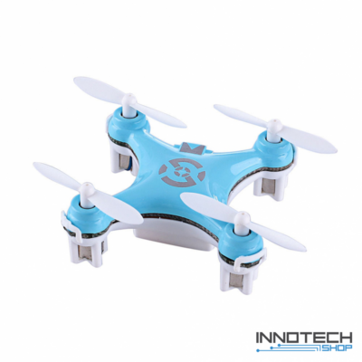 Cheerson CX-10 nano drón quadcopter (magyar útmutatóval CX 10 hobby mini drone, rc nano quadrokopter, beltéri szoba drón) - kék