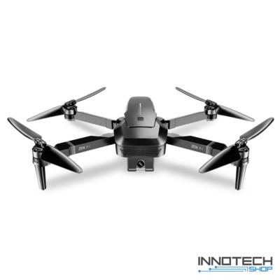Visuo ZEN K1 GPS Wifi 5G 4K FPV összecsukhatós drón quadcopter dual kamerával 29cm 26 perc repülési idő (4K UHD FPV kamerás drón 500 m) - fekete