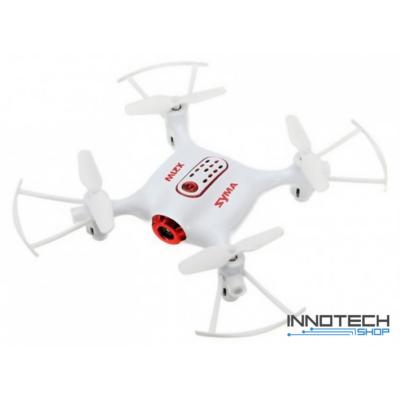 Syma X21W Wifi FPV élőképes kamerás drón quadcopter 13.5cm 720p HD kamerás drón automata magasságtartással (magyar útmutatóval) - fehér