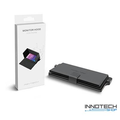 Telefon monitor árnyékoló keret távirányítóra DJI Mavic Air Spark Phantom 4 drónhoz - PGYTECH Monitor Hood For Phone