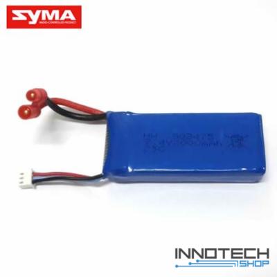 SYMA X8 gyári akku akkumulátor (7,4V 2000 mAh li-po) X8HG X8HW X8HC X8G X8C drón kompatibilis