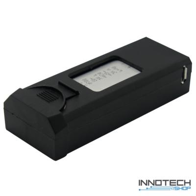 VISUO gyári pót akkumulátor VISUO XS812 drónokhoz (3,7 V, 1800 mAh, drón tartalék akku)