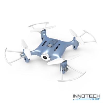 Syma X21W Wifi FPV élőképes kamerás drón quadcopter 13.5cm 720p HD kamerás drón automata magasságtartással (magyar útmutatóval) - kék