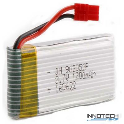 Syma X5HC X5HW tuning akkumulátor 1200 mAh 3.7V LiPo akku (X5H-BAT)