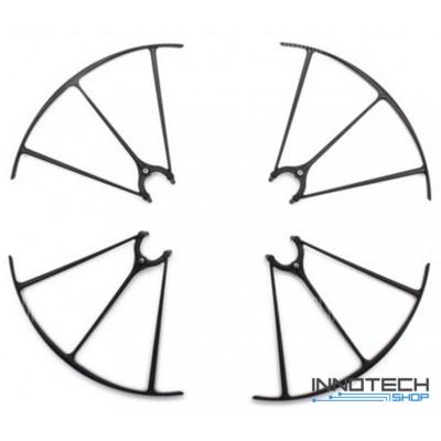 Syma X5HC X5HW - rotorvédő 4 db (fekete propellervédő X5HC-04B)