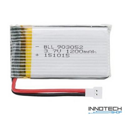 Syma X5SC X5SW tuning akkumulátor 1200 mAh 3.7V LiPo akku (X5SC-BAT)