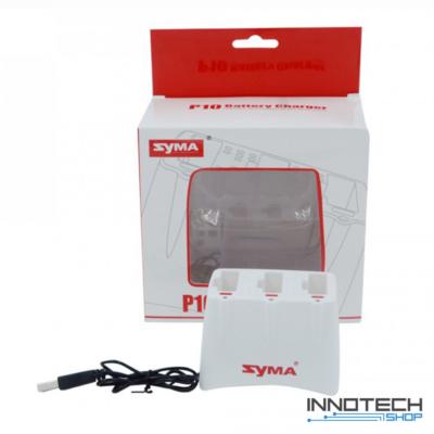 Syma X5UW-D X5UW USB akkumulátor töltő kábellel 3x (P10-CHARGER) (3db akku töltés egyszerre)