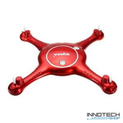Syma X5UW-D X5UW komplett ház (piros alsó felső drón váz burkolat test X5UW-01 X5UW-02)
