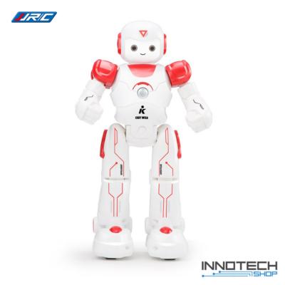 JJRC R12 CADY WISO RC Robot 27cm interaktív programozható intelligens vezérléssel (magyar útmutatóval interaktív távirányítós játék) - piros