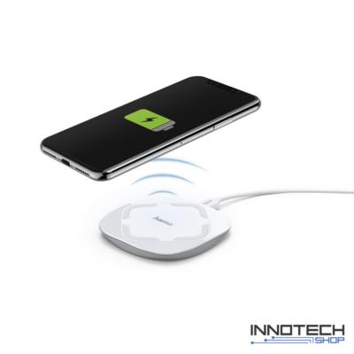 Hama QIFC10C vezeték nélküli indukciós mobiltelefon töltő 2A - fehér (178976)