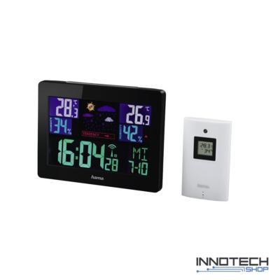 Hama EWS-1400 színes kijelzős időjárás állomás (136259)