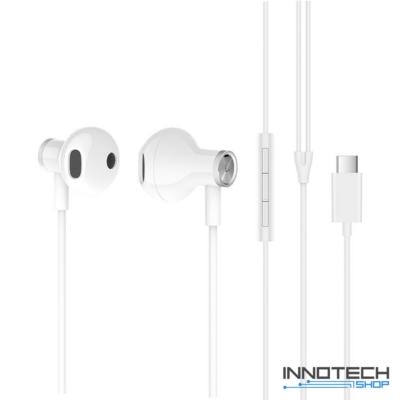 Xiaomi Mi Dual Driver Earphones fülhallgató (Type-C) - FEHÉR