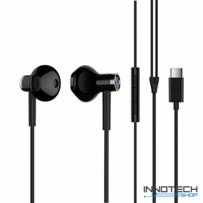 Xiaomi Mi Dual Driver Earphones fülhallgató (Type-C) - FEKETE (XMMDDETCB)