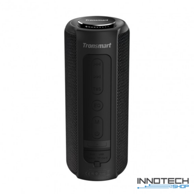 Tronsmart Element T6 Plus SoundPulse hordozható bluetooth hangszóró hangfal - FEKETE (TSET6PSPB)