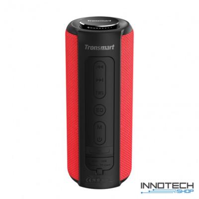 Tronsmart Element T6 Plus SoundPulse hordozható bluetooth hangszóró hangfal - PIROS (TSET6PSPR)