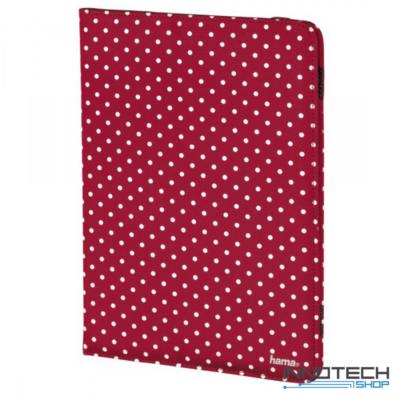 """Hama Polka Dots univerzális tablet és ebook tok 10,1""""-ig - piros (135538)"""