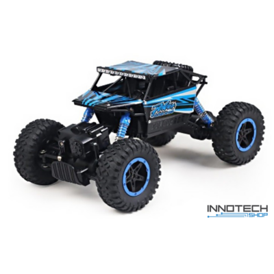 NQD 1:18 Rock Crawler Buggy 4WD 20km/h 27cm RC távirányítós sziklamászó off road játék autó 2.4GHz - kék
