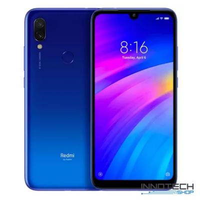 Xiaomi Redmi 7 DualSIM LTE okostelefon - 32GB - 3GB RAM - Üstökös kék - Globál verzió