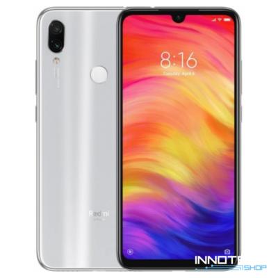 Xiaomi Redmi Note 7 Dual Sim LTE okostelefon - 128GB - 4GB RAM - fehér - Globál verzió