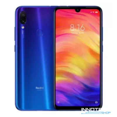 Xiaomi Redmi Note 7 DualSIM LTE okostelefon - 32GB - 3GB RAM - kék - Globál verzió