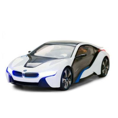 BMW i8 1:14 36cm távirányítós modell autó Rastar 49600 RTR modellautó - fehér