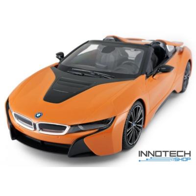 BMW i8 1:12 39cm távirányítós modell autó Rastar 95500 RTR modellautó - narancs